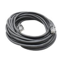 CABLE DE RED GHIA 5 MTS 15 PIES PATCH CORD RJ45 CAT 5E UTP GRIS GHIA