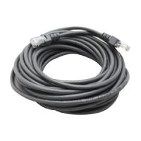 CABLE DE RED GHIA 7.5 MTS 22.5 PIES PATCH CORD RJ45 CAT 5E UTP GRIS GHIA