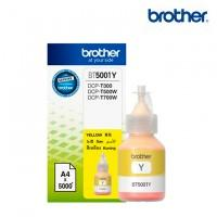 BOTELLA DE TINTA BROTHER AMARILLO BT5001Y DE ALTO RENDIMIENTO DE HASTA 5000 PGINAS COMPATIBLE CON TINTA CONTINUA BROTHER BROTHER