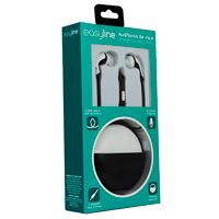 AUDIFONOS IN-EAR CON MICROFONO EASY LINE BY PERFECT CHOICE BLACK/WHITE PERFECT CHOICE